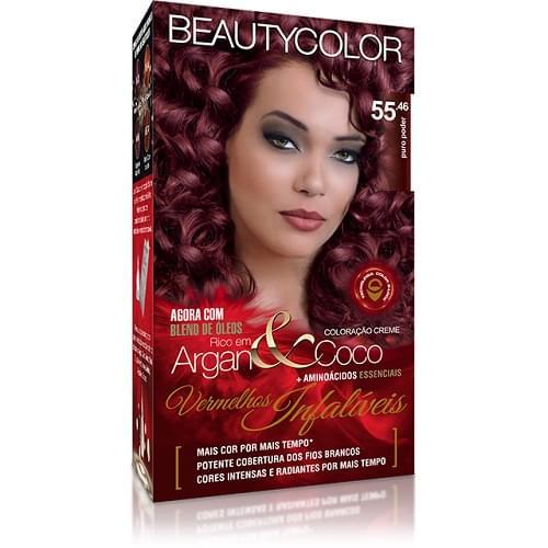 Imagem de Tintura permanente beauty color puro poder