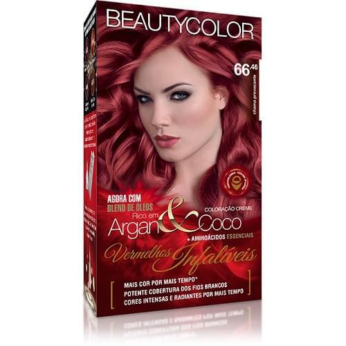 Imagem de Tintura permanente beauty color chama provocante