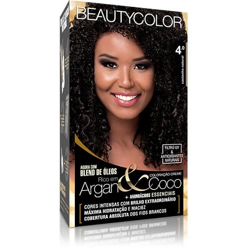 Imagem de Tintura permanente beauty color 4.0 castanho natural