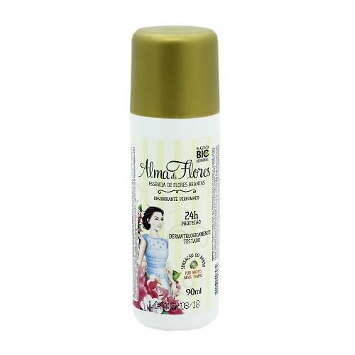 Imagem de Desodorante spray alma de flores 90ml essencia de flores brancas