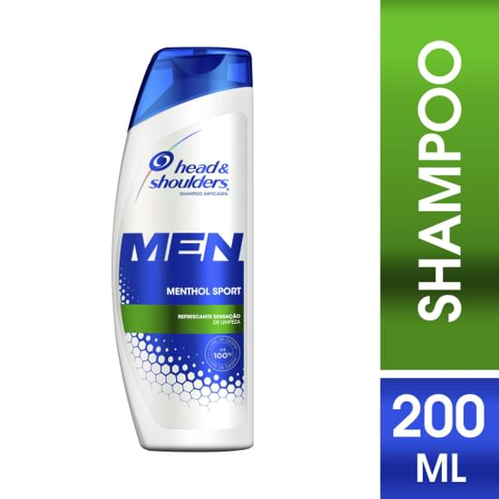 Imagem de Shampoo anti caspa head  shoulders 200ml menthol