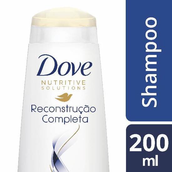 Imagem de Shampoo uso diário dove 200ml reconstrução completa