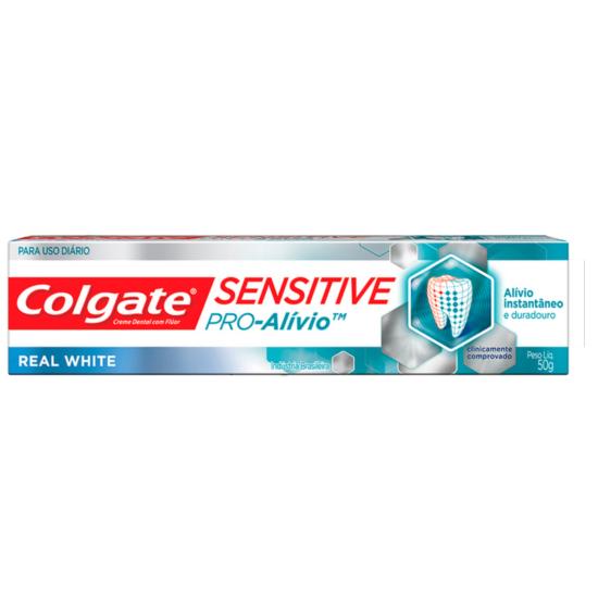 Imagem de Creme dental terapeutico colgate 50g pró alívio branqueador
