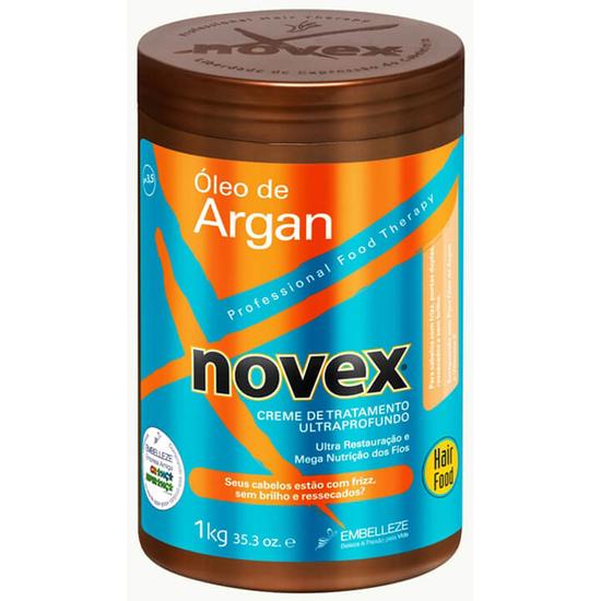 Imagem de Creme tratamento novex 1kg óleo argan