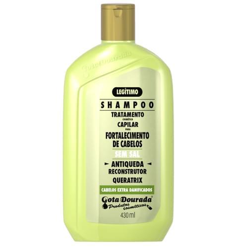 Imagem de Shampoo anti queda gota dourada 430ml antiqueda