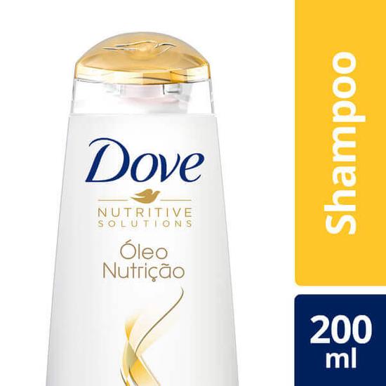 Imagem de Shampoo uso diário dove 200ml óleo nutrição