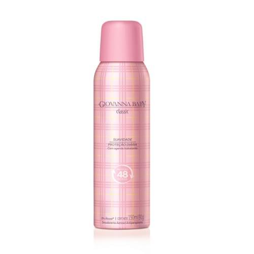 Imagem de Desodorante aerosol giovanna baby 150ml feminino rosa