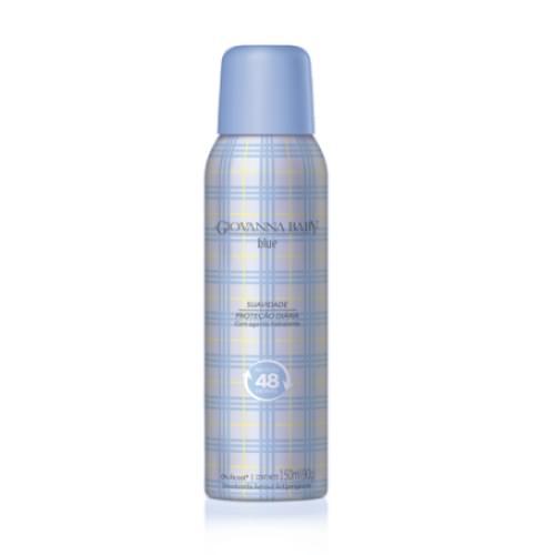 Imagem de Desodorante aerosol giovanna baby 150ml feminino azul