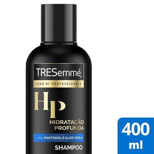 Imagem de Shampoo uso diário tresemmé 400ml hidratação profunda