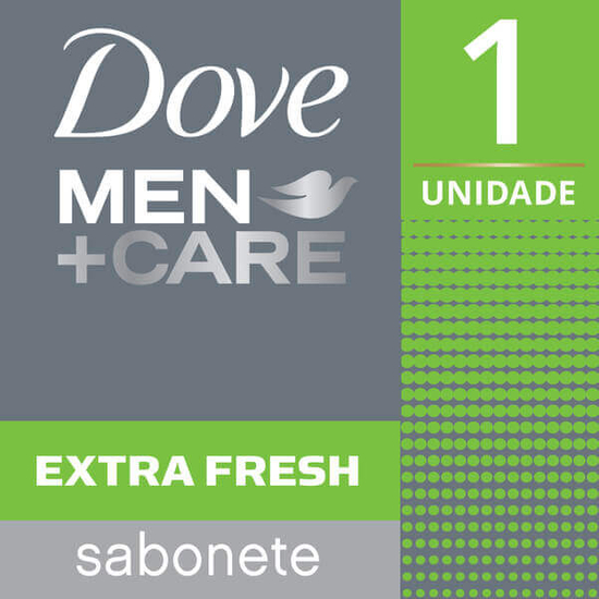 Imagem de Sabonete em barra uso diário dove 90g men care clean extra fresh