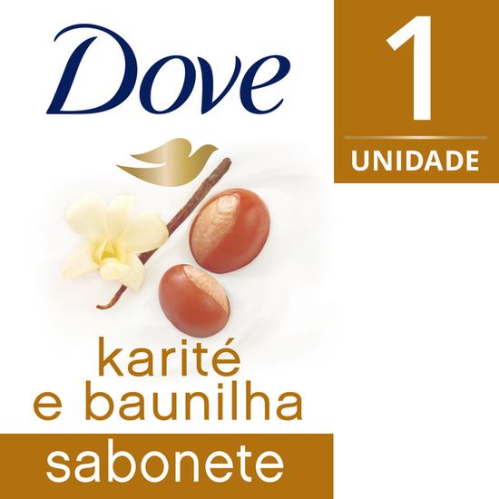 Imagem de Sabonete em barra uso diário dove 90g baunilha
