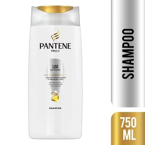 Imagem de Shampoo uso diário pantene 750ml liso extremo