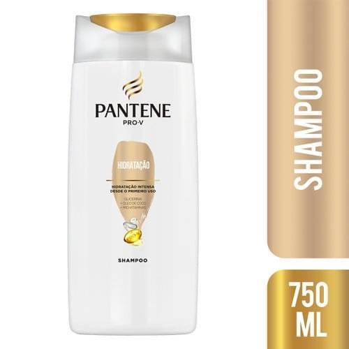 Imagem de Shampoo uso diário pantene 750ml reparação intensa