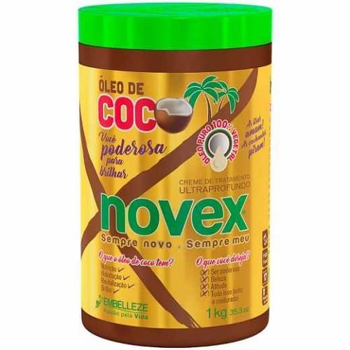 Imagem de Creme tratamento novex 1kg oleo de coco