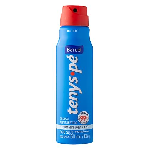 Imagem de Desodorante para pés baruel 86g jato seco original