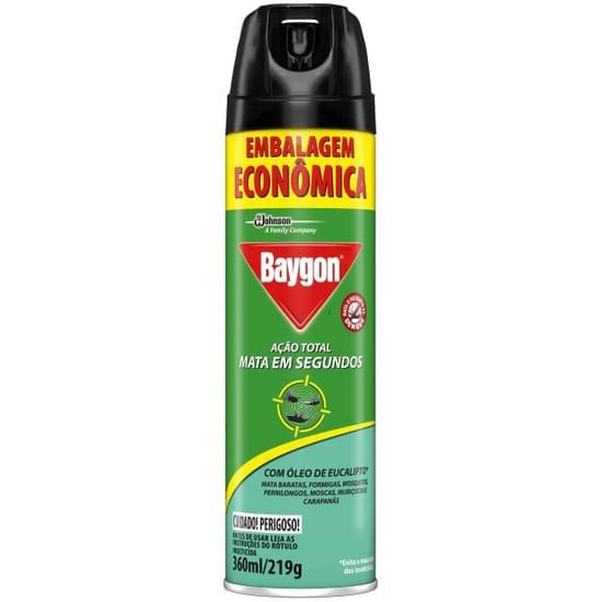 Imagem de Inseticida aerosol baygon 360ml ação total