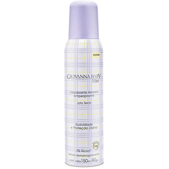 Imagem de Desodorante aerosol giovanna baby 150ml lilás