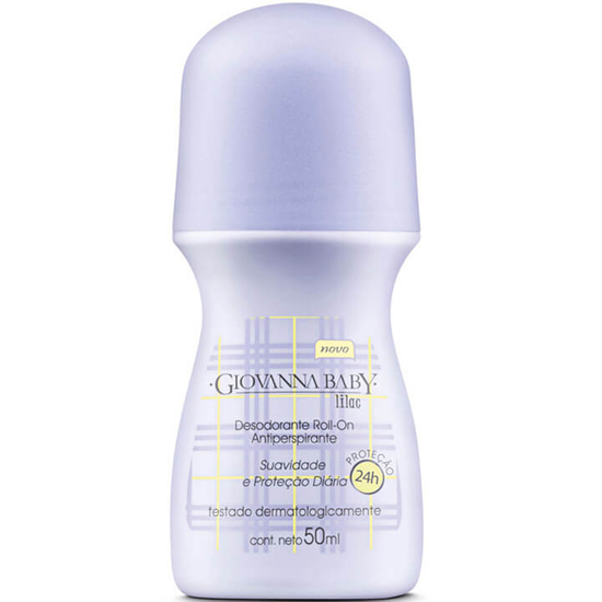 Imagem de Desodorante roll-on giovanna baby 50ml lilás