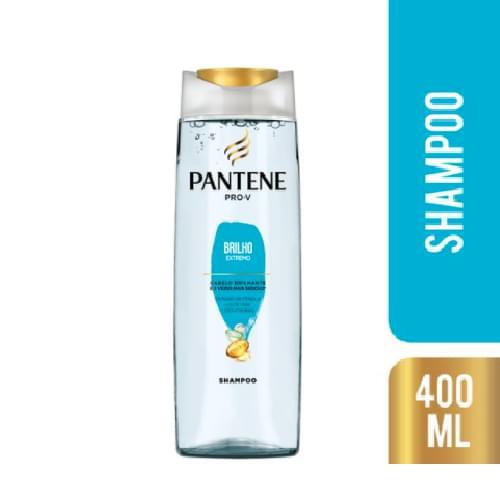 Imagem de Shampoo uso diário pantene 400ml brilho extremo