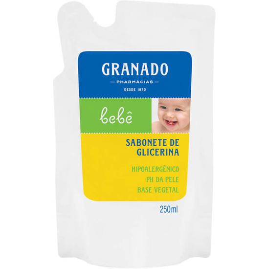 Imagem de Sabonete líquido infantil granado 250ml tradicional refil