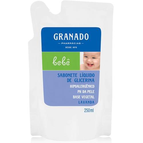 Imagem de Sabonete líquido refil granado 250ml lavanda