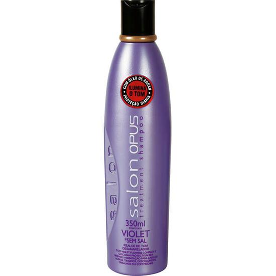 Imagem de Shampoo uso diário salon opus 350ml violet