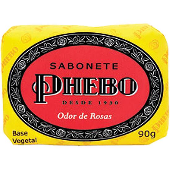 Imagem de Sabonete em barra glicerinado phebo 90g odor de rosas