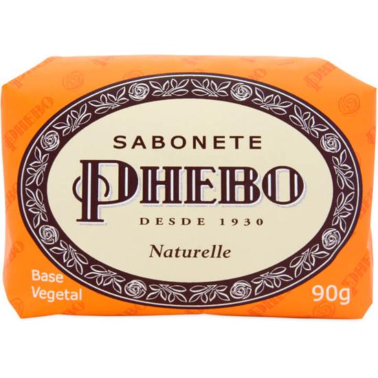 Imagem de Sabonete em barra glicerinado phebo 90g naturelle