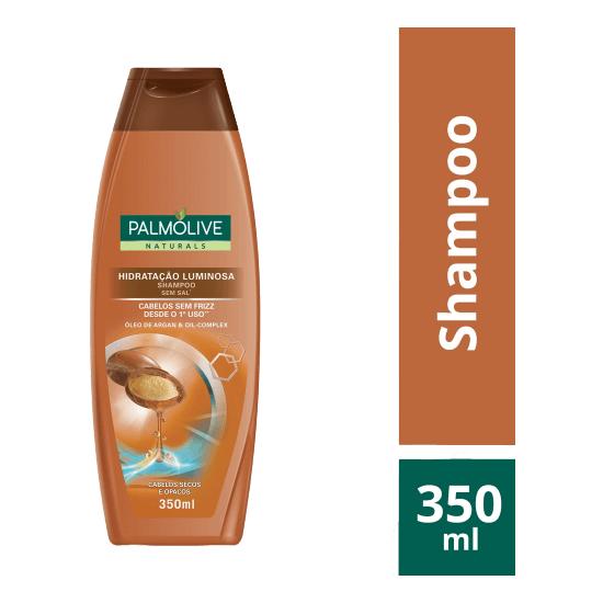 Imagem de Shampoo uso diário palmolive 350ml óleo de argan
