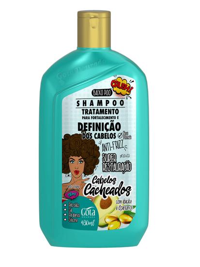 Imagem de Shampoo uso diário gota dourada 430ml cabelos cacheados