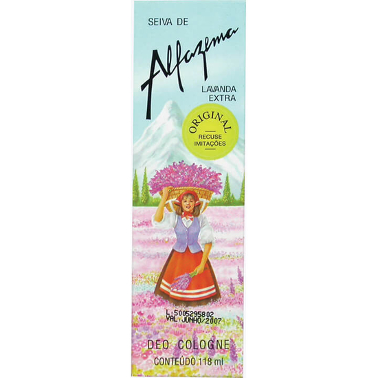 Imagem de Colônia feminina alfazema 118ml lavanda
