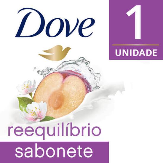 Imagem de Sabonete em barra uso diário dove 90g go fresh reequilibrio ameixa