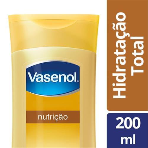 Imagem de Loção corporal hidratante vasenol 200ml nutrição