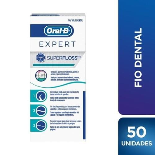 Imagem de Fio dental regular oral-b 50m super floss