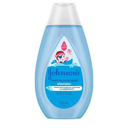 Imagem de Shampoo infantil johnson johnson 200ml cheirinho prolongado