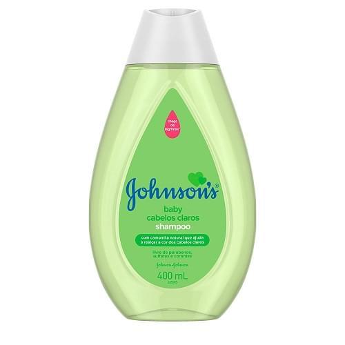Imagem de Shampoo infantil johnson johnson 400ml claros