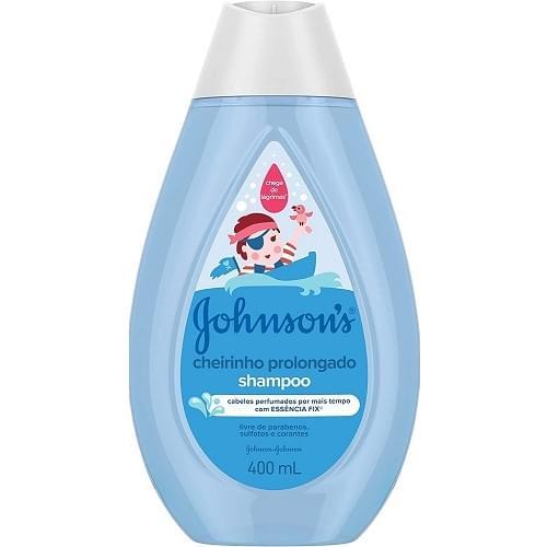 Imagem de Shampoo infantil johnson johnson 400ml cheirinho prolongado