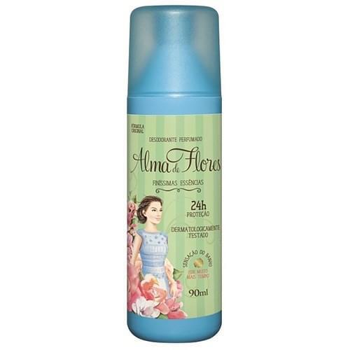 Imagem de Desodorante spray alma de flores 90ml feminino clássico