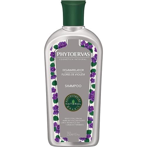 Imagem de Shampoo uso diário phytoervas 250ml desamarelador