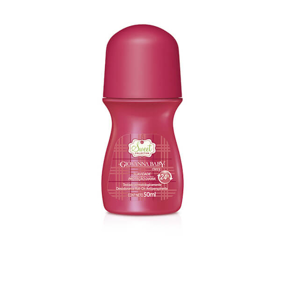 Imagem de Desodorante roll-on giovanna baby 50ml cherry