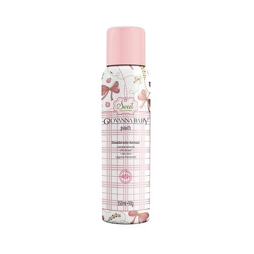 Imagem de Desodorante aerosol giovanna baby 150ml peach