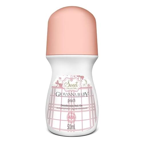 Imagem de Desodorante roll-on giovanna baby 50ml peach