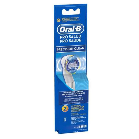 Imagem de Escova dental refil oral-b c/2 precision clean