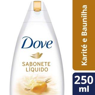 Imagem de Sabonete líquido uso diário dove 250ml karité