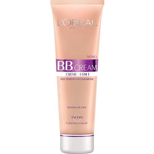 Imagem de Base bb cream loréal escura fps 20