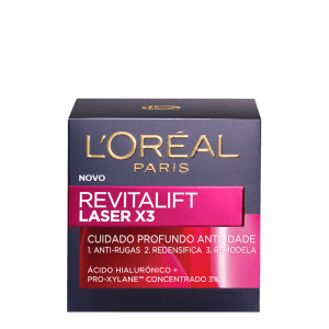 Imagem de Creme facial anti-idade loréal 50ml laser x3