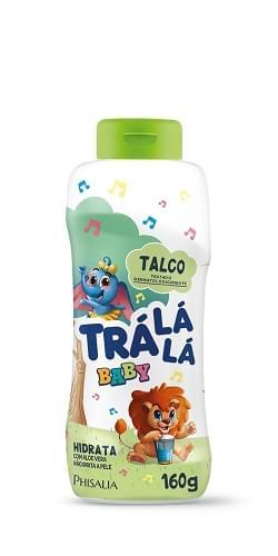 Imagem de Talco infantil trá lá lá 160g hidrata