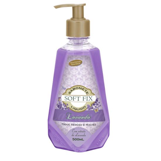 Imagem de Sabonete líquido uso diário softfix 500ml lavanda