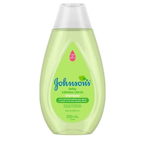 Imagem de Shampoo infantil johnson johnson 200ml claros