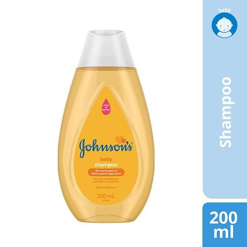 Imagem de Shampoo infantil johnson johnson 200ml regular